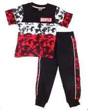 Boys - 2 Pc Tie Dye Tee & Jogger Pants (2T-4T)-2604225