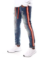 Buyers Picks - Ripped Jean with Paint Splatter and Side Tape-2614839