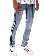 Buyers Picks - Ripped Jean with Paint Splatter and Side Tape-2614826