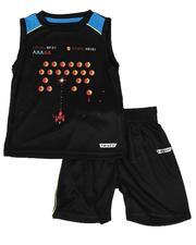 HIND - 2 Pc Sports Muscle Tank & Shorts Set (2T-4T)-2614777