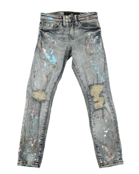 Jordan Craig - Destructed Washed Jeans (8-16)