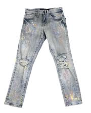 Jordan Craig - Destructed Washed Jeans (8-16)-2616457