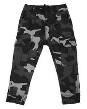 Phat Farm - Camo Stretch Twill Jogger Pants (2T-4T)-2616483