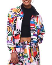 Outerwear - PI All Over Print Track Jacket-2611120