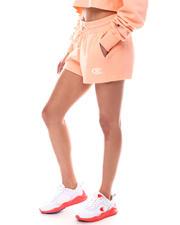 Athleisure - Tonal Marble Logo Reverse Weave Shorts-2616559