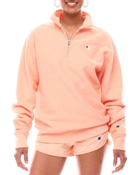 Champion - Oversized Reverse Weave 1/4 Zip Pullover