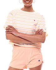 Women - Stripe Heritage Cropped Tee-2616711
