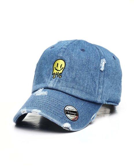 Buyers Picks - Melting Smiley Face Vintage Dad Hat