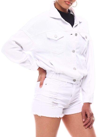 YMI Jeans - 80's Style Jacket  W.Elastic Hem