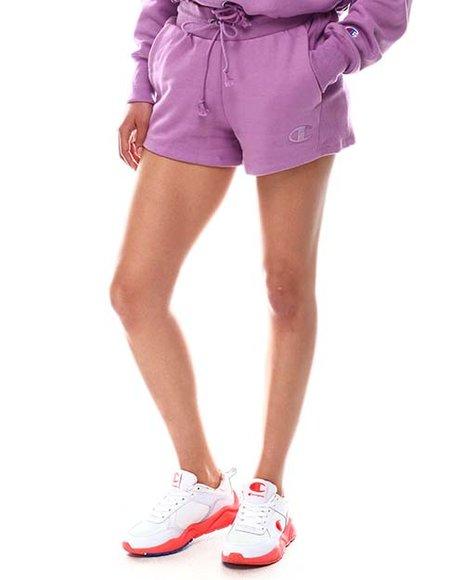 Champion - Tonal Marble Logo Reverse Weave Shorts