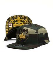 Hats - King Born To Hustle Snapback Hat-2617162