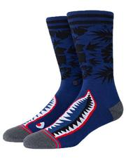 Socks - Tropical Warbird Crew Socks-2617900