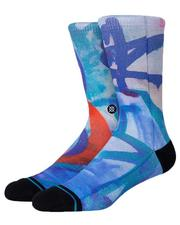 Socks - Stash Wall Crew Socks-2618506