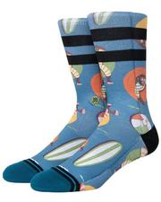Socks - Monkey Chillin Crew Socks-2618508