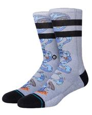 Socks - Party Wave Crew Socks-2618511