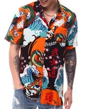 Button-downs - Clash Woven Shirt-2618109