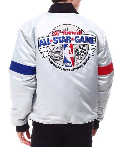 Mitchell & Ness - All Star Heavyweight Satin Jacket