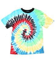 NOTHIN' BUT NET - Crew Neck Tie Dye T-Shirt (8-18)-2619224