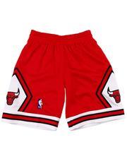 Mitchell & Ness - Chicago Bulls Swingman Shorts (8-20)-2605620