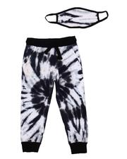 Bottoms - All Over Tie Dye Joggers W/ Mask (4-7)-2606100