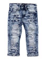 Jeans - Rip & Repair Paint Splatter Stretch Jeans (2T-4T)-2607581
