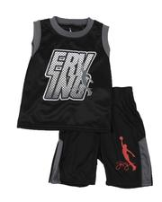 Sets - 2 Pc Erving Graphic Mesh Tank & Shorts Set (4-7)-2619180