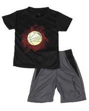 Dr.J-Julius Erving - 2 Pc Graphic T-Shirt & Shorts Set (4-7)-2619198