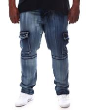 Jeans - Cargo Snap Denim Jeans (B&T)-2620198
