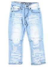 Jeans - Rip & Repair Paint Splatter Stretch Jeans (2T-4T)-2607577