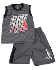 Dr.J-Julius Erving - 2 Pc Erving Graphic Mesh Tank & Shorts Set (8-20)-2618690