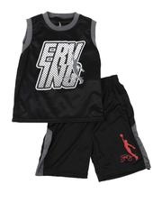 Sets - 2 Pc Erving Graphic Mesh Tank & Shorts Set (8-20)-2618694