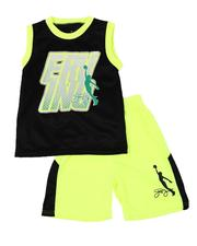 Sets - 2 Pc Erving Graphic Mesh Tank & Shorts Set (8-20)-2618702