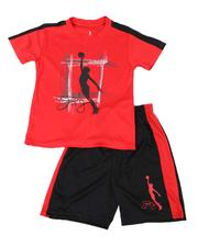 Dr.J-Julius Erving - 2 Pc Graphic T-Shirt & Shorts Set (8-20)-2619190