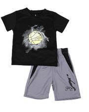 Dr.J-Julius Erving - 2 Pc Graphic T-Shirt & Shorts Set (4-7)-2619208