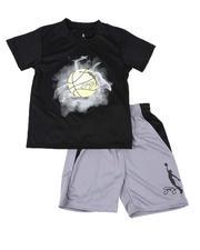 Dr.J-Julius Erving - 2 Pc Graphic T-Shirt & Shorts Set (8-20)-2619217