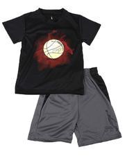 Dr.J-Julius Erving - 2 Pc Graphic T-Shirt & Shorts Set (8-20)-2619221