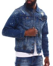Outerwear - Dirty Distressed Jean Jacket-2617754