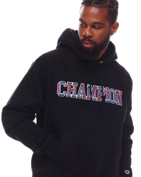 Champion - 3D Embroidered Block Hoodie