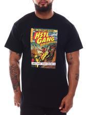 Hustle Gang - Space Book Knit T-Shirt (B&T)-2620368