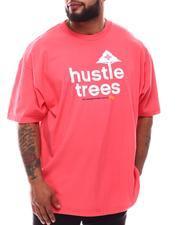 Men - Hustle Trees T-Shirt (B&T)-2619014