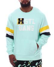 Pullover Sweatshirts - Half Back Crew Sweatshirt (B&T)-2620444