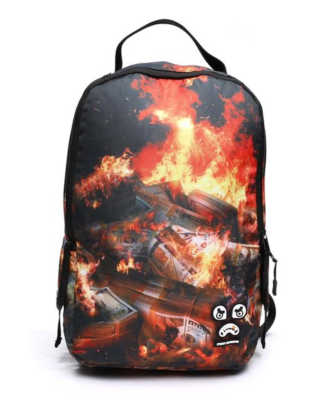 Buyers Picks - Dollars On Fire Backpack (Unisex)
