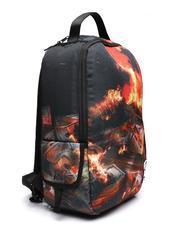 Dollars On Fire Backpack (Unisex)