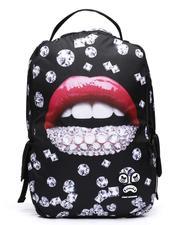 Bags - Diamond Lips Backpack (Unisex)-2619234