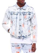 Denim Jackets - Paint Splatter Airbrushed Denim Jacket-2617747
