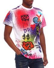 Akademiks - Graffiti Tee-2620005