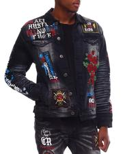 Copper Rivet - Rose Embroidery Jacket-2617931