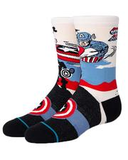 Accessories - Captain America Socks (Youth)-2621850