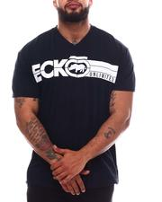 Ecko - Iron Side V-Neck T-Shirt (B&T)-2620593