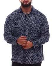 Button-downs - Pattern Button Down Shirt (B&T)-2620645